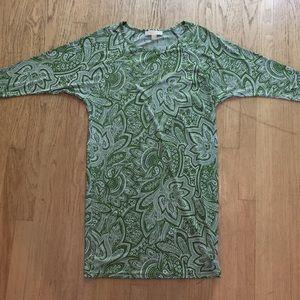Michael Kors Dresses - Michael Kors Paisley Dress with 3/4 Dolman Sleeves